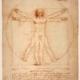 Proportionsschema von da Vinci