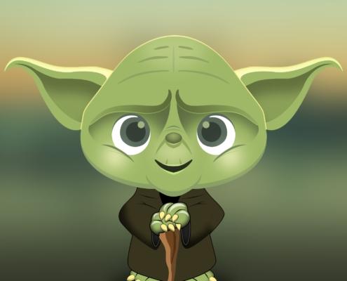 Yoada - grünes Fabelwesen