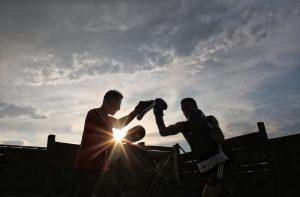 Veränderung ist wie boxen